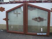 2 Mahagoni Fenster