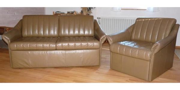 2 sitzer braun echtleder sofa couch m bel schlafsofa. Black Bedroom Furniture Sets. Home Design Ideas