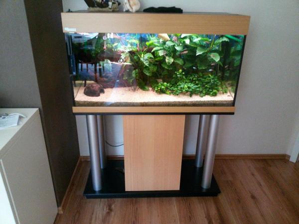 200 l mp aquarium gebraucht inkl unterschrank in. Black Bedroom Furniture Sets. Home Design Ideas