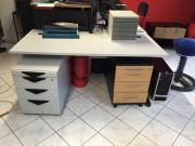 3 gebrauchte Schreibtische