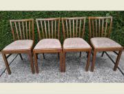 4 Stühle Massivholz