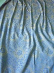 4 Vorhangschals, blau