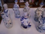 6 Porzellanfiguren