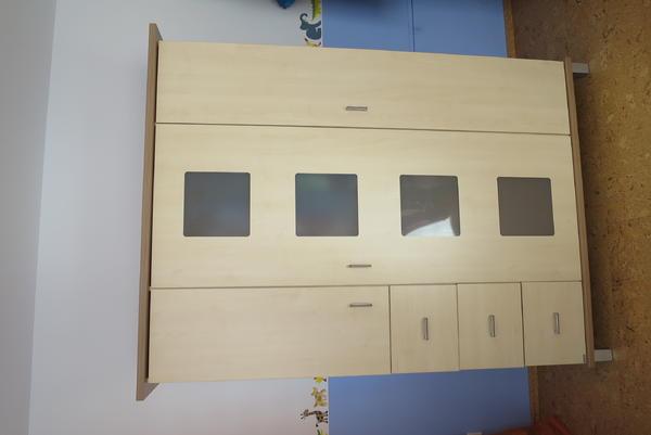 paidi babyzimmer gitter kinderbett schrank wickelkommode aufsatz b cherregal wandregal. Black Bedroom Furniture Sets. Home Design Ideas
