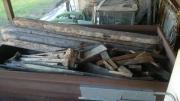 Abrissholz aus alter