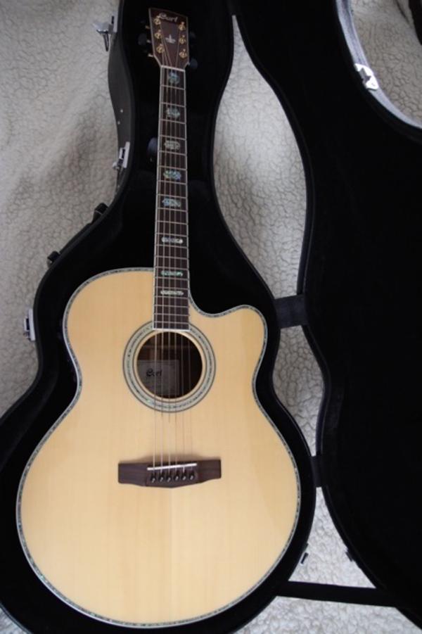 akustik gitarre cort cj 10 x in forst gitarren zubeh r kaufen und verkaufen ber private. Black Bedroom Furniture Sets. Home Design Ideas