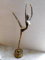 alte Messing Skulptur