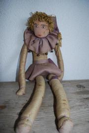 alte Puppe aus