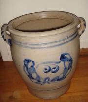 alte Vase Kübel