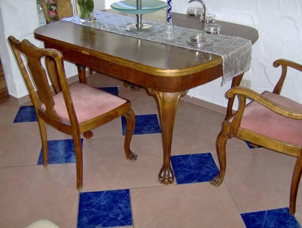 alter antik esstisch in bad wimpfen k chenm bel schr nke kaufen und verkaufen ber private. Black Bedroom Furniture Sets. Home Design Ideas