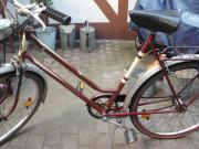 Altes Fahrrad der