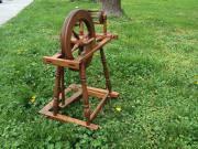 Altes Spinnrad zur