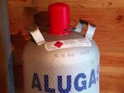 Alu Gasflasche 11
