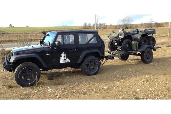 anh nger us army milit r f r jeep quad land rover etc in. Black Bedroom Furniture Sets. Home Design Ideas