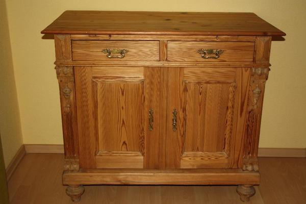 antike kommode weichholz in f rth sonstige m bel antiquarisch kaufen und verkaufen ber. Black Bedroom Furniture Sets. Home Design Ideas