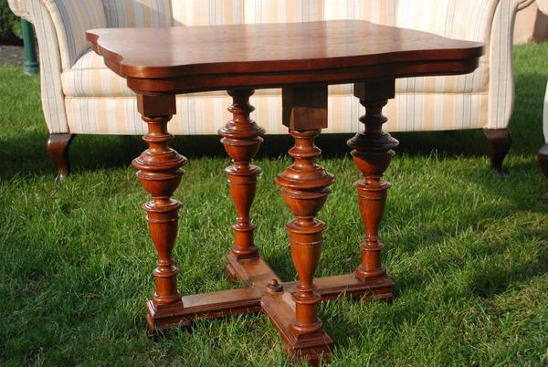 couchtisch antik neu und gebraucht kaufen bei. Black Bedroom Furniture Sets. Home Design Ideas