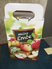 Apfelsaft; Bag in