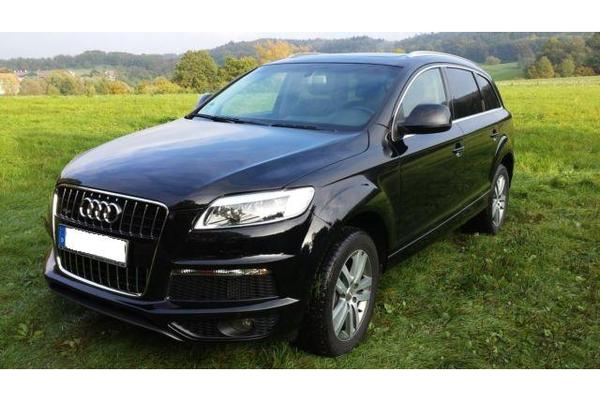 audi q7 3 0 tdi dpf quattro tiptronic s line navi in stuttgart audi sonstige kaufen und. Black Bedroom Furniture Sets. Home Design Ideas