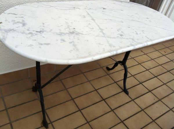 Balkontisch gartentisch marmor in talheim sonstiges for Gartentisch marmor