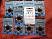 Batterien für Hörgerät
