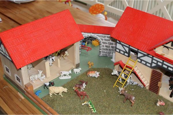 Bauernhof für kinder spielzeug lego playmobil