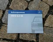 Betriebsanleitung Mercedes W201