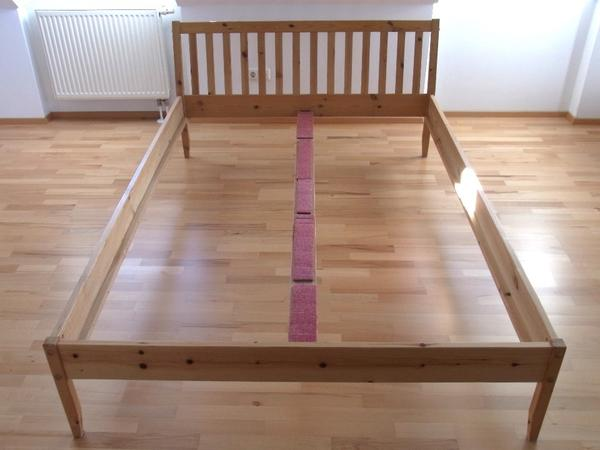 bett vollholz kiefer 140 x 200 in dachau betten kaufen. Black Bedroom Furniture Sets. Home Design Ideas