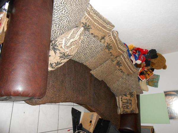 big sofa york kolonial stil afrika look in oberreichenbach leder kaufen und verkaufen ber. Black Bedroom Furniture Sets. Home Design Ideas