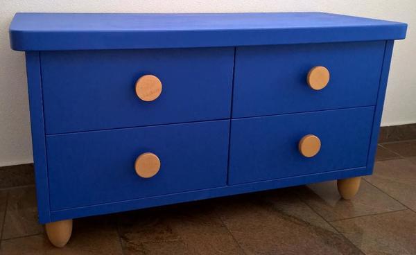 kommode blau kaufen gebraucht und g nstig. Black Bedroom Furniture Sets. Home Design Ideas
