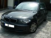BMW 116i, schwarz,