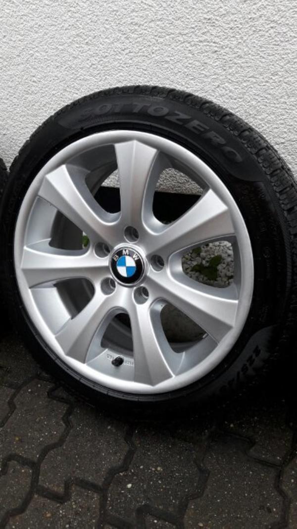 BMW 1er E87 Winterreifen mit Alufelgen 225/45R17 gebraucht kaufen  76726 Germersheim