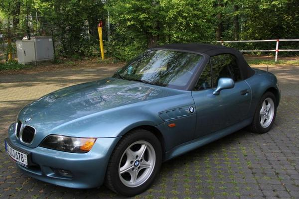 bmw z3 roadster atlanta blau in bochum bmw cabrio. Black Bedroom Furniture Sets. Home Design Ideas