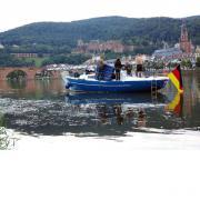 Bootsüberführung - Heidelberg nach