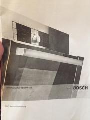 Bosch Dampfbackofen Neuwertig