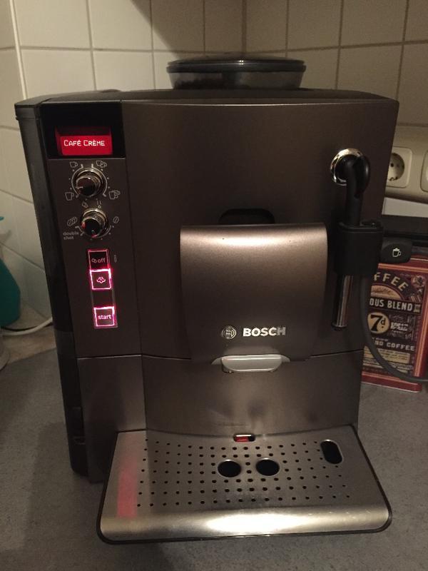 bosch tes50358de kaffee vollautomat verocafe latte 1 7 l 15 bar externes milchsystem. Black Bedroom Furniture Sets. Home Design Ideas