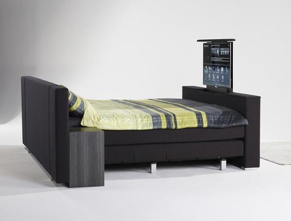 boxspringbett nevsi mit tv lift 180 x 200 neu und direkt. Black Bedroom Furniture Sets. Home Design Ideas