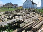 Brennholz aus Hausabbruch -