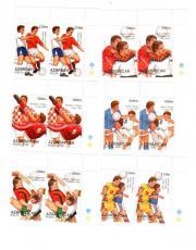 Briefmarken Fußball in
