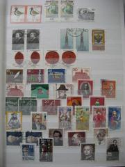 Briefmarkenalbum, Deutschland, Welt
