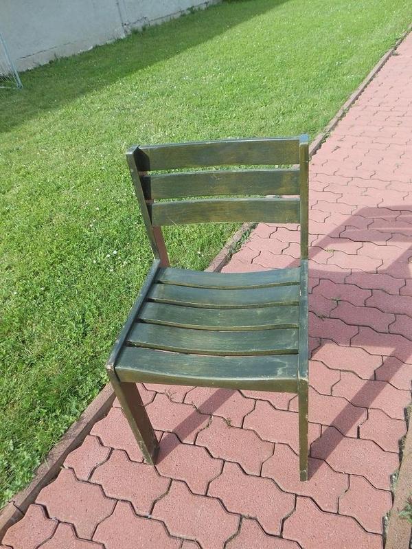buche massivholz stuhl gartenm bel aus ubstadt weiher. Black Bedroom Furniture Sets. Home Design Ideas