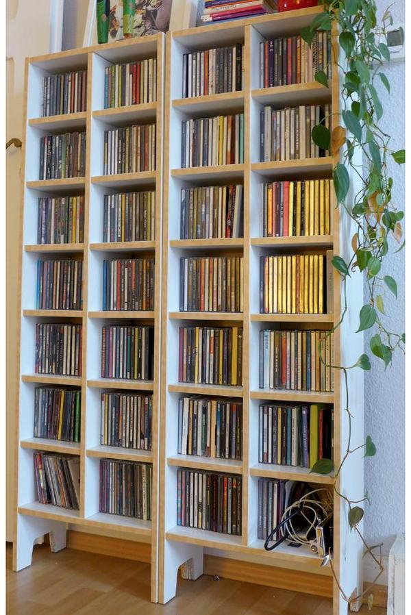 cd regal neu und gebraucht kaufen bei. Black Bedroom Furniture Sets. Home Design Ideas