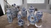 Chinesische Porzellanteile