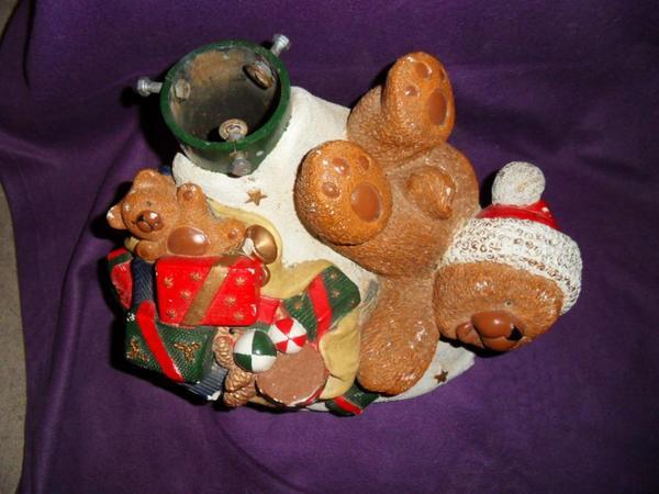 Christbaum weihnachtsbaum st nder fu teddy wundersch n in for Dekoartikel frankfurt