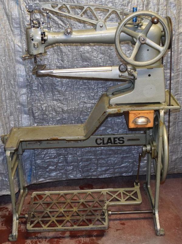 claes 200 1 berholte sattler schuhmacher schuster polsterer t schner ledern hmaschine. Black Bedroom Furniture Sets. Home Design Ideas