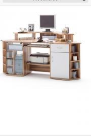 eckschreibtisch buche haushalt m bel gebraucht und. Black Bedroom Furniture Sets. Home Design Ideas