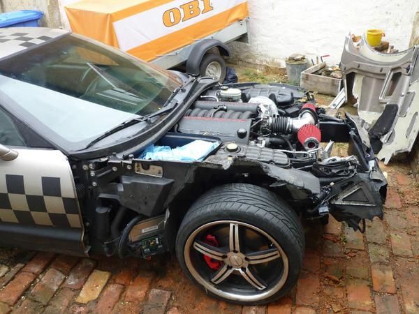 corvette c5 unfall in siegburg daewoo chevrolet kaufen. Black Bedroom Furniture Sets. Home Design Ideas