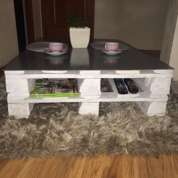 Paletten Wohnzimmertisch Tisch Aus Ideen Mit Selber Bauen