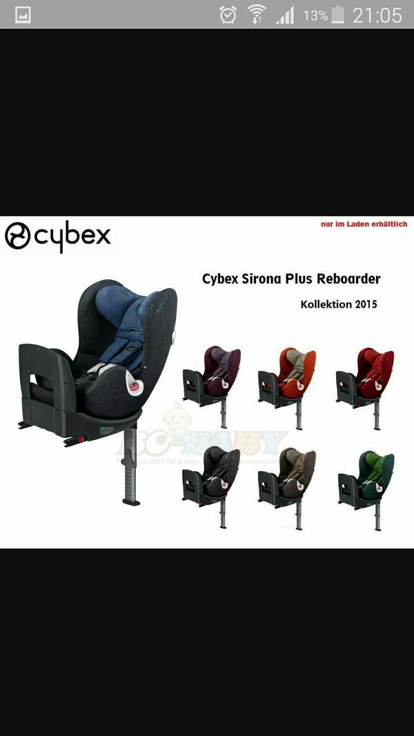 cybex sirona plus reboard kindersitz in muntlix autositze kaufen und verkaufen ber private. Black Bedroom Furniture Sets. Home Design Ideas