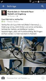 Cyco Fahrrad zu