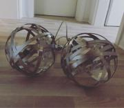 Deckenleuchte / Deckenlampe Edelstahl